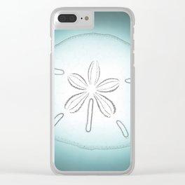 Sand Dollar Blessings - Pointilist Art Clear iPhone Case