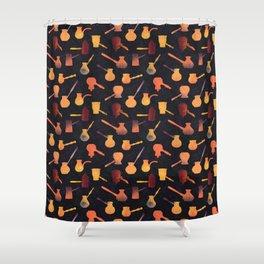 Hot Kenyan coffee Shower Curtain