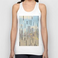 dallas Tank Tops featuring Dallas by Calepotts