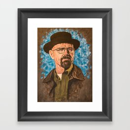 Say My Name Framed Art Print