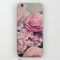 quiet ranunculus iPhone & iPod Skin