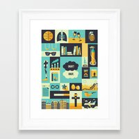 tfios Framed Art Prints featuring TFiOS Items by Risa Rodil