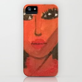 Color And Curls iPhone Case