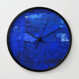 just BLUE Wall Clock