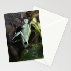 Mint Terribilis Poison Dart Frog Stationery Cards