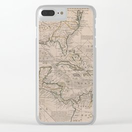 West Indies 1720 Clear iPhone Case