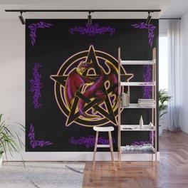 Dragon Pentacle Fantasy Art Wall Mural