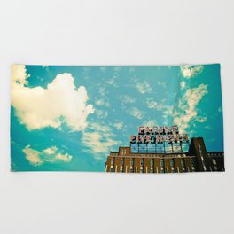 Farine Five Roses Beach Towel