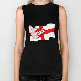 England Rugby Flag Biker Tank