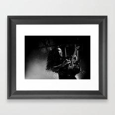 Dragonforce ANALOG zine Framed Art Print