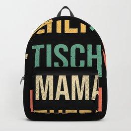 Mama Ehefrau Tischlerin Heldin Backpack