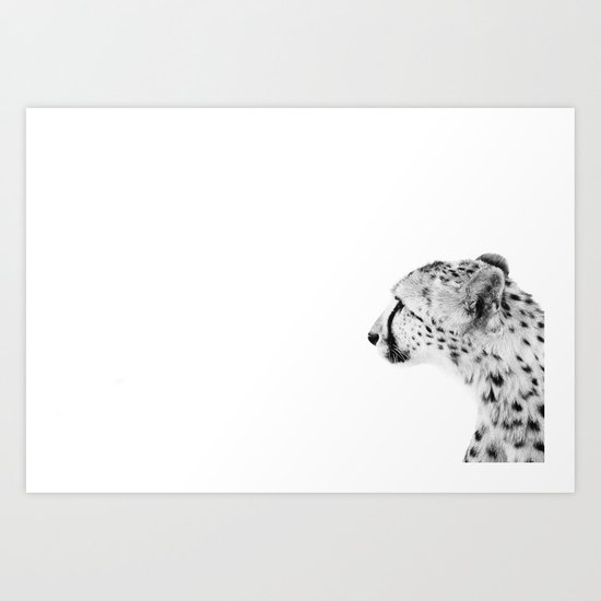Cheetah III Art Print