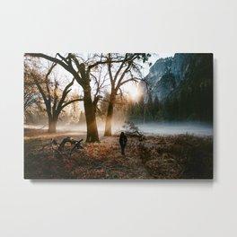 Yosemite Sunrise Metal Print