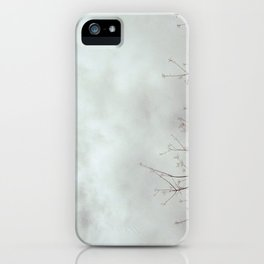 gloomy fluffs iPhone Case