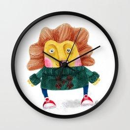 Cute Cub Wall Clock