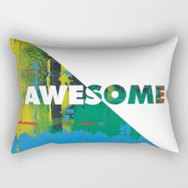 Color Chrome - Awesome graphic Rectangular Pillow