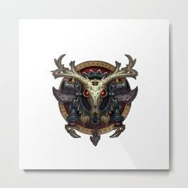 Hunter Sigil Metal Print