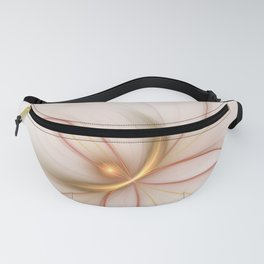 Nobly In Gold And Copper, Fractal Art Fanny Pack
