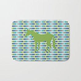 Greenery Unicorn V02 Bath Mat