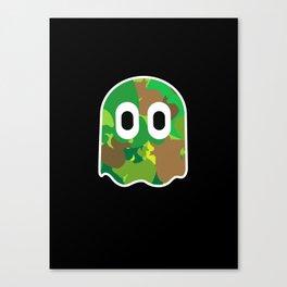 Camo Blinky Canvas Print