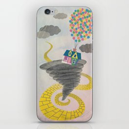The Wizard of Up iPhone Skin