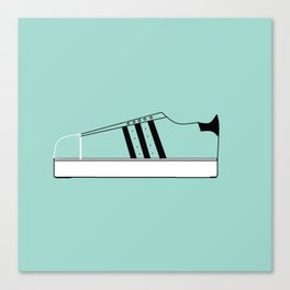 Low Top Stripe Canvas Print