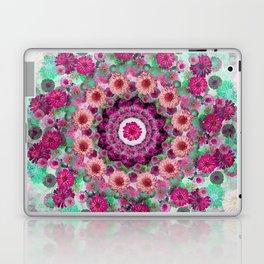 Happy pistachio green background Laptop & iPad Skin