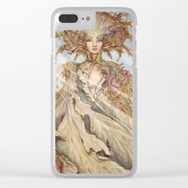 Fearie Queen Clear iPhone Case