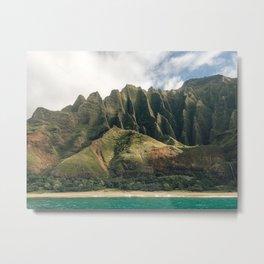 Na Pali Coast Metal Print