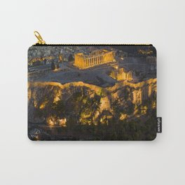 Sunset over the Acropolis, Greece Carry-All Pouch