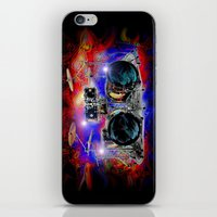 drums iPhone & iPod Skins featuring Psychedelic Drums by JT Digital Art