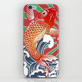 fishing flag iPhone Skin
