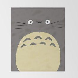 My neighbor troll - Studio Ghibli Throw Blanket