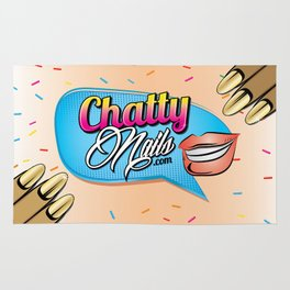 Chatty Nails Purse Rug