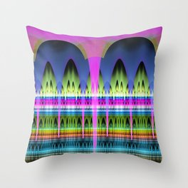 Arches to the One thousend and one nights stories Throw Pillow