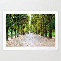 Days Ahead - Jardin des Plantes - Paris France Art Print