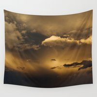 minnesota Wall Tapestries featuring Minnesota Storm by Ryan Lodermeier