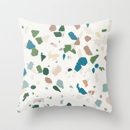 TERAZZO Throw Pillow
