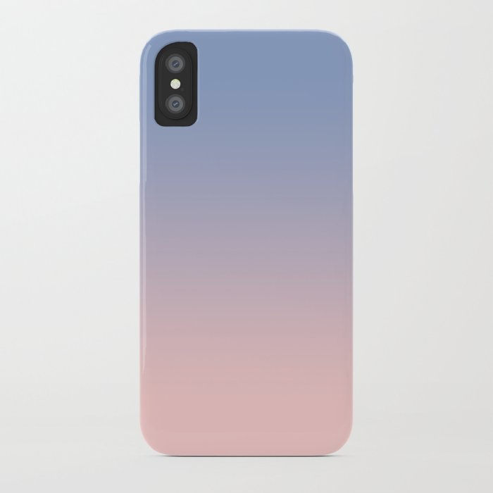 cheap for discount d1ccc db10e Pantone Rose Quartz and Serenity Ombre iPhone Case by tamsinlucie