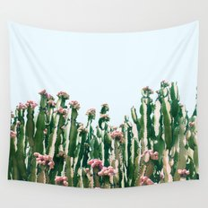Blush Cactus #society6 #decor #buyart Wall Tapestry