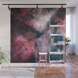 The Carina Nebula Astrophotography Space Art Wall Mural