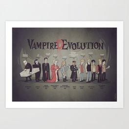 Vampire (D)Evolution Art Print