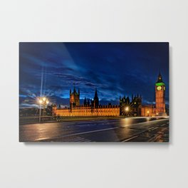 One of my favourite Big Ben Pictures in London Metal Print