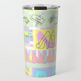 Kitsch Paris Shopping Trip   Travel Mug