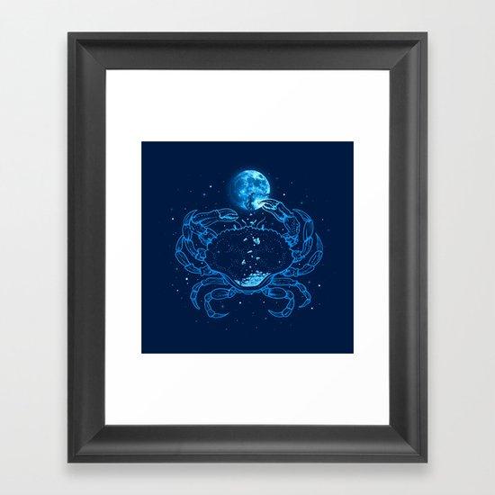 Me Gusta La Luna Llena Framed Art Print