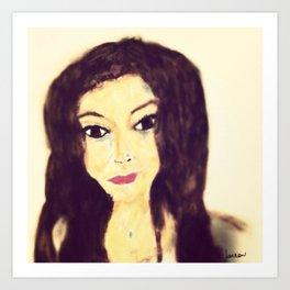 Lorie #facesilove Art Print