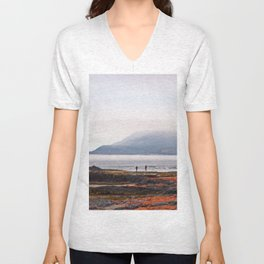 Between Seaweed and Fog Unisex V-Neck