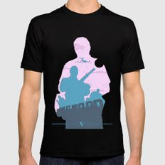 GTA V - MICHAEL DE SANTA MEDIUM Black Mens Fitted Tee