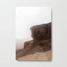 Cliff. Metal Print
