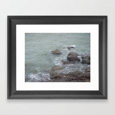 The ocean in French Framed Art Print